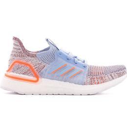 Adidas UltraBOOST 19 W - Glow Blue/Hi-Res Coral/Active Maroon