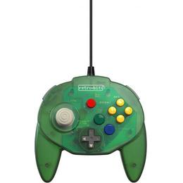 Retro-Bit Tribute 64 Controller - Forest Green
