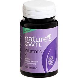 Natures Own Vitamin E 60 st