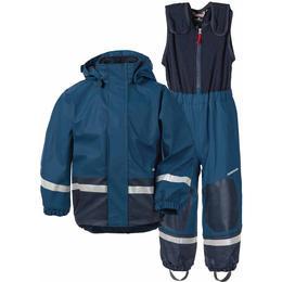 Didriksons Boardman Fodrat Regnställ - Hurricance Blue (502685-343)