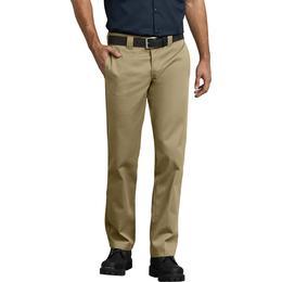 Dickies 873 Slim Fit Straight Leg Work Pants - Military Khaki