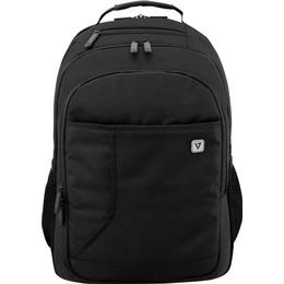 "V7 Professional Laptop Backpack 17"" - Black"