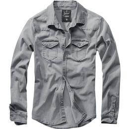 Brandit Riley Denim Shirt - Gray