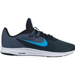 Nike Downshifter 9 M - Black/Monsoon Blue/White/Blue Lagoon