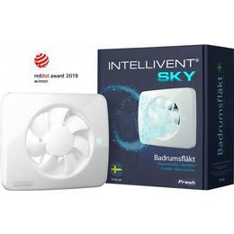 Fresh Badrumsfläkt Intellivent Sky (9302583)