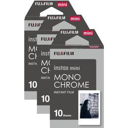 Fujifilm Instax Mini Film Monochrome 3x10 pack