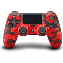 Sony DualShock 4 V2 Controller - Red Camouflage