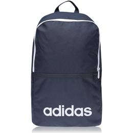 Adidas Linear Classic Daily Backpack - Legend Ink/White/White