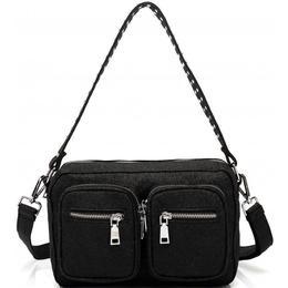 Noella Celina Crossover Bag - Glitter Black