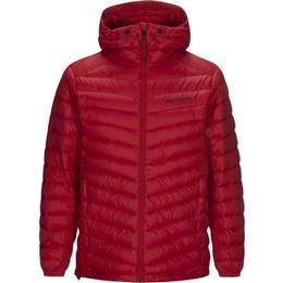 Peak Performance Frost Down Hooded Jacket - Dark Chilli