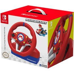 Hori Nintendo Switch Mario Kart Pro Mini Racing Wheel Controller - Red/Blue/Black