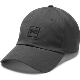 Under Armour Washed Cotton Cap - Graphite