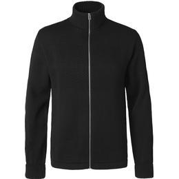 Mads Nørgaard 100% Wool Klemens Zip - Black