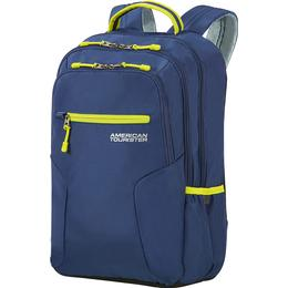 """American Tourister Urban Groove 15.6"""" - True Navy/Lime"""