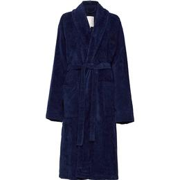 Lexington Hotel Velour Robe Unisex - Dress Blue