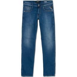 Replay Anbass Powerstretch Jeans - Medium Blue