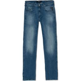 Replay Hyperflex Anbass Slim Fit Jeans - Denim