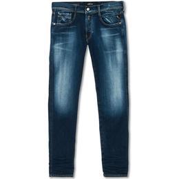 Replay Anbass Hyperflex Bio Jeans - Blue