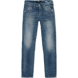 Replay Slim Fit Anbass Jeans - Medium Blue