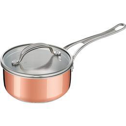Tefal Jamie Oliver Triply Copper Kastrull med lock 1.4 L 16 cm