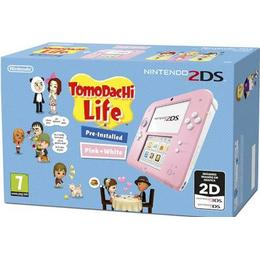Nintendo New 2DS Pink/White - Tomodachi Life