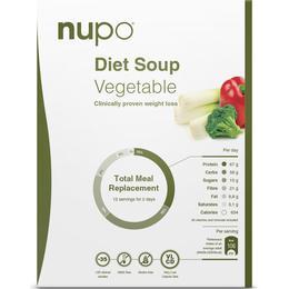 Nupo Diet Soup Vegetable 384g
