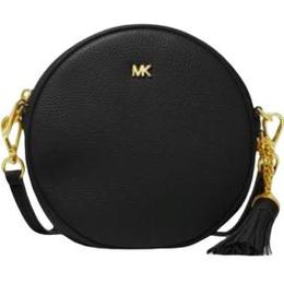 Michael Kors Pebbled Leather Canteen Crossbody - Black