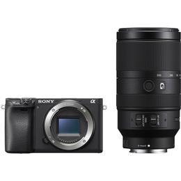 Sony Alpha 6400 + E 70-350mm F4.5-6.3 G OSS
