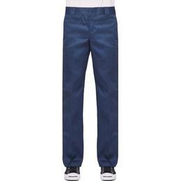 Dickies Slim Fit Straight Leg Work Pants - Navy Blue
