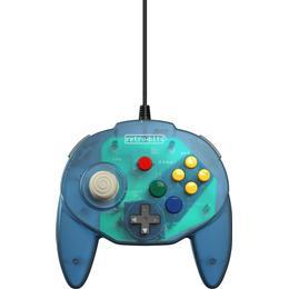 Retro-Bit Tribute 64 Controller - Ocean Blue