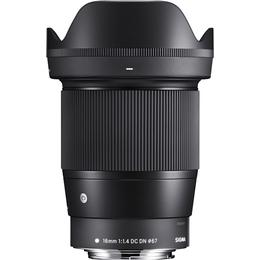 Sigma 16mm F1.4 DC DN C for Canon EF-M