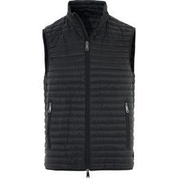 Emporio Armani Sleeveless Down Jacket - Black