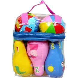Barbo Toys Gurli Gris Bowling Set