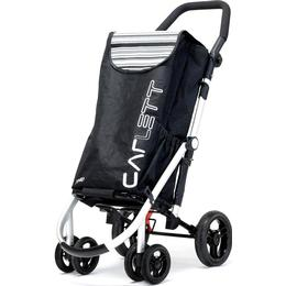 Carlett Lett 460 Shopping Trolley - Black