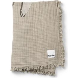 Elodie Details Soft Cotton Blanket Kindness Cat