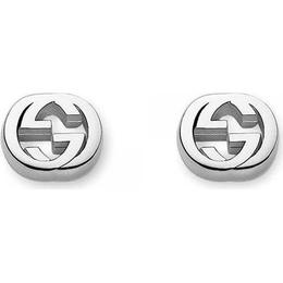 Gucci Interlocking G Earrings - Silver