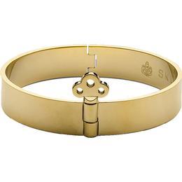 Skultuna Bangle with Key Lock Bracelet - Gold