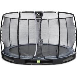 Exit Elegant Premium Ground Trampoline 366cm + Deluxe Safety Net