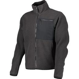 WearColour Retro Pile Fleece Jacket - Phantom Black