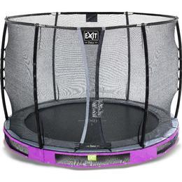 Exit Elegant Premium Ground Trampoline 305cm + Deluxe Safety Net