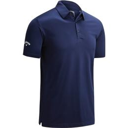 Callaway Swing Tech Tour Fit Solid Polo - Peacoat