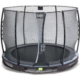 Exit Elegant Ground Trampoline 305cm + Economy Safety Net