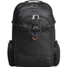 Everki 120 Travel Friendly Laptop Backpack - Black