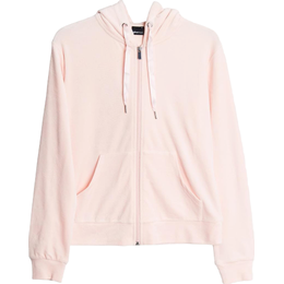 Gina Tricot Cecilia Velour Hoodie - Blushing Bride