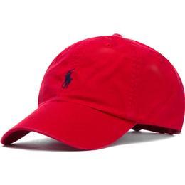 Polo Ralph Lauren Cotton Chino Baseball Cap - Rl2000 Red/Blue