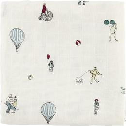 Cam Cam Printed Swaddle Holiday 120x120cm