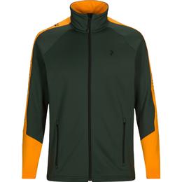 Peak Performance Riding Jacket with Zipper - Drift Green