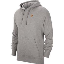 Nike Fleece Tennis Hoodie - Dark Grey Heather