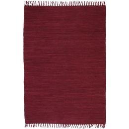 vidaXL Chindi (120x170cm) Röd