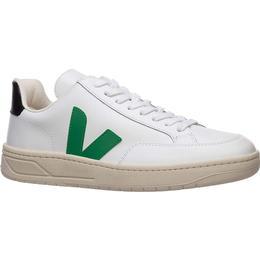 Veja V-12 - Extra White/Emeraude Black